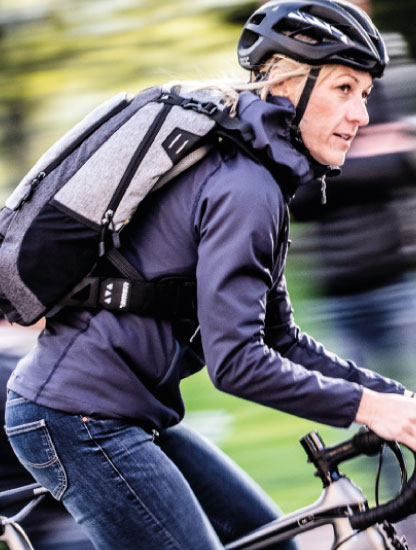BACKPACKS FOR BIKING TO WORK